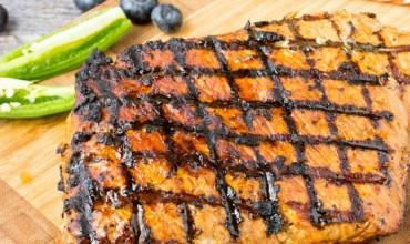 Balsamic Pork Loin/ Pesto Pork Wrap