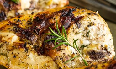 GRILLED ROSEMARY LEMON CHICKEN BREASTS
