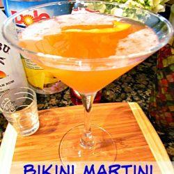 Bikini Martini cocktail recipe