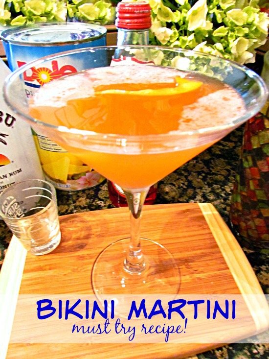 Bikini Martini cocktail recipe