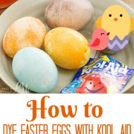 Dye Easter Eggs with Kool-Aid