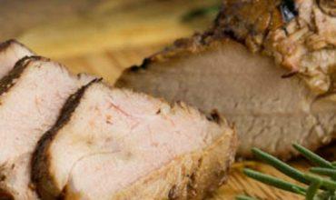 Molasses Glazed Pork Tenderloin