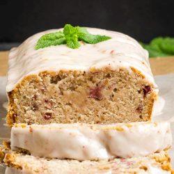 Sweet, fruity & delish Strawberry Bread