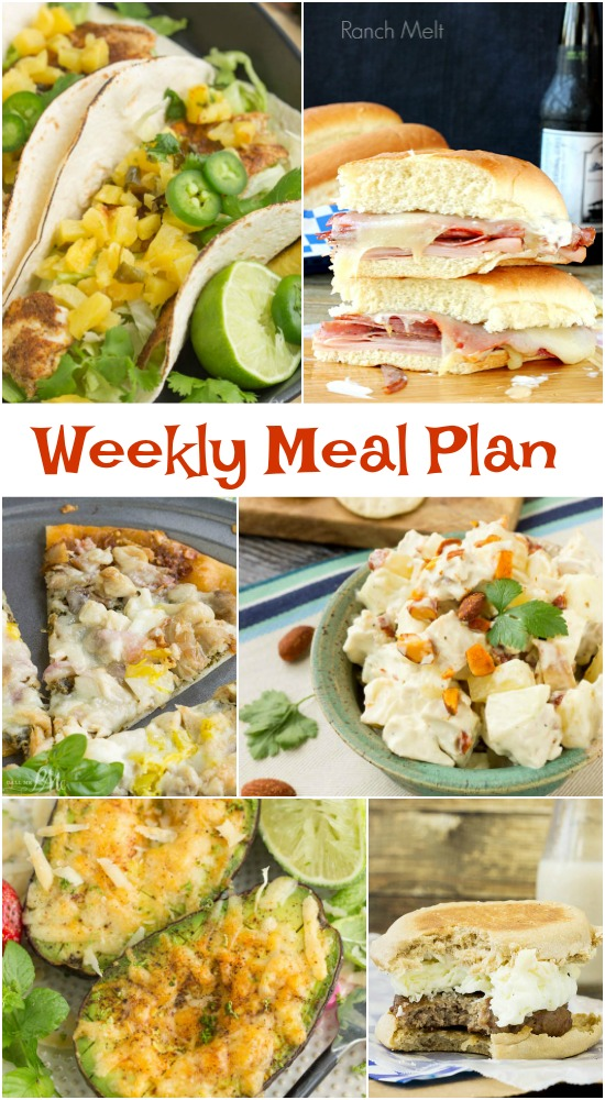 Here's your Weekly Meal Plan 3. These meal ideas are specifically tailored for busy families. It's a tasty resource to have at your fingertips for meal planning and a guide you can use to update some of your family's favorites or introduce some new tasty choices into your meal-time rotation.