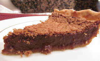 Chocolate Chess Pie https://www.callmepmc.com/2012/04/chocolate-chess-pie/