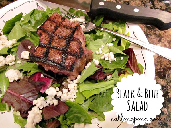Black and Blue Salad #callmepmc