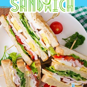 Country Club Sandwich recipe kicks up the traditional deli sandwich with fresh, wholesome and minimally processed ingredients.