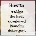 How to Make the Best Washing Detergent