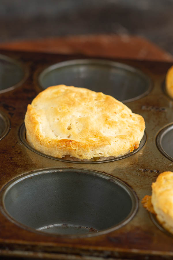 These muffins are filled with sausage, egg, and cheese and make a delicious portable breakfast that kids love!
