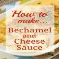 Bechamel Sauce & Cheese Sauce