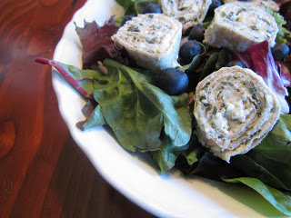 Spinach Wrap Salad