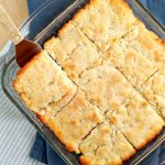 Buttered Pan Biscuits is an easy biscuit recipe that requires no rolling, no kneading, and no biscuit cutter. Warm, homemade biscuits are so much easier than you thought. #biscuits #recipe #Southernfood #Southernbiscuits #callmepmc