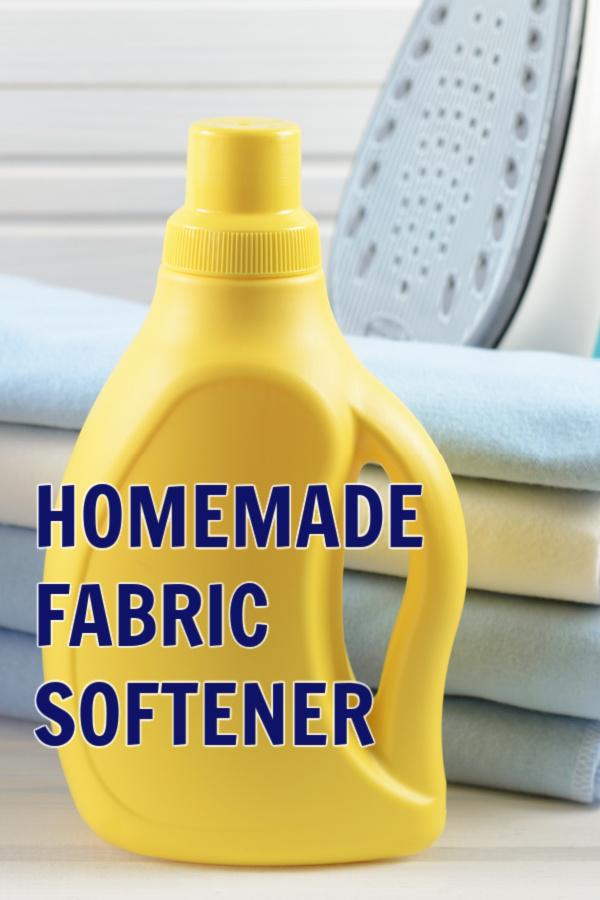 Easy DIY Fabric Softener
