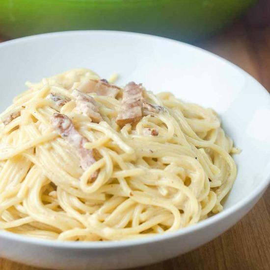 Spaghetti Carbonara Call Me Pmc