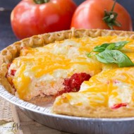 Traditional Southern Tomato Pie