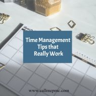 TOP TIPS FOR TIME MANAGEMENT