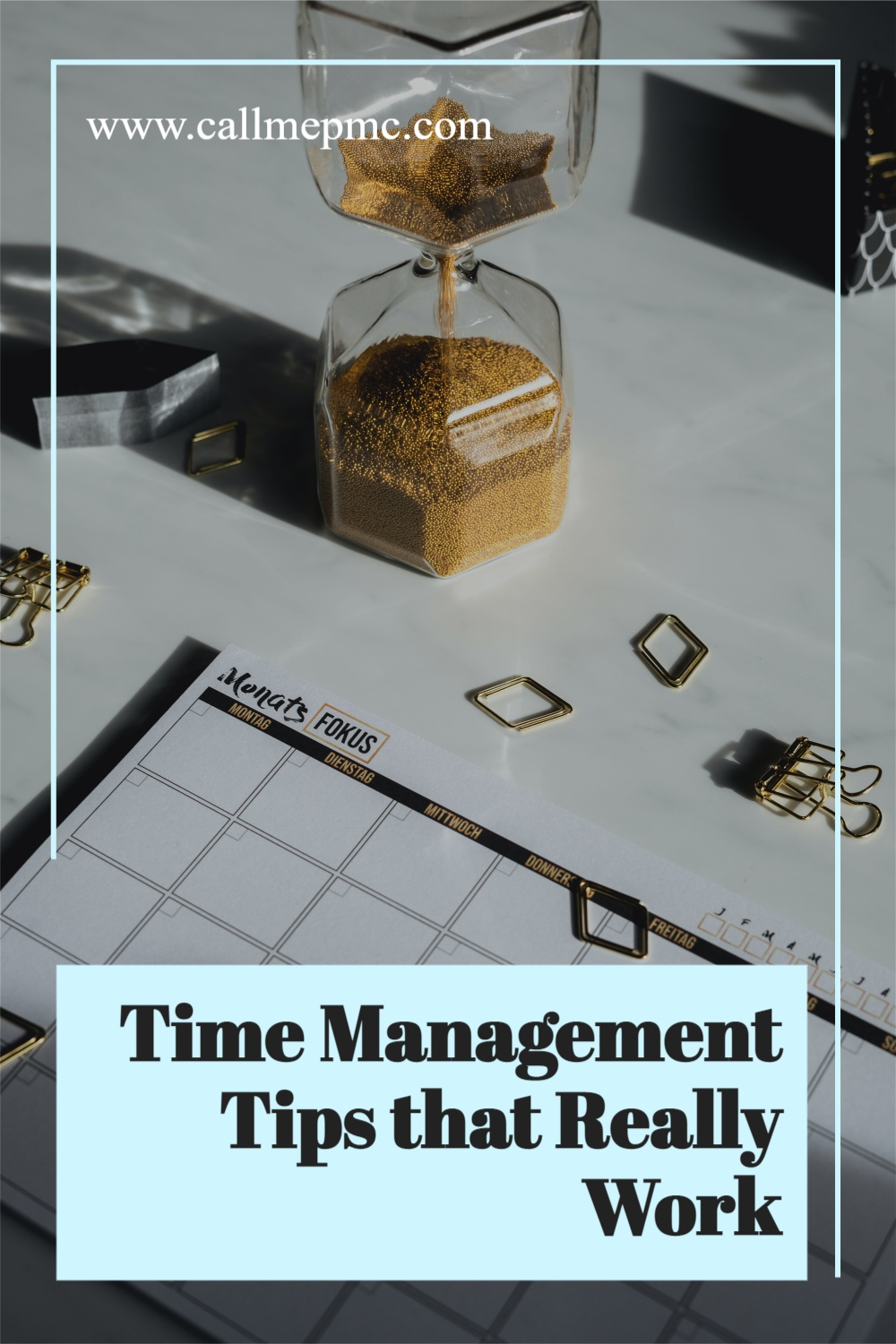 Time Management Tips that really work