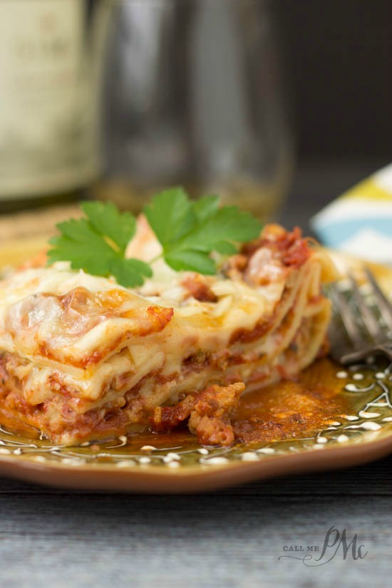 Easy Lasagna Recipe -Italian comfort food classic|
