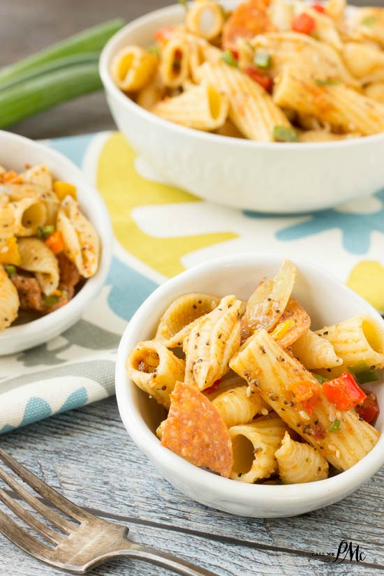 This homemade Easy Pasta Salad recipe is tasty, filling and hearty. Perfect for potlucks and picnics .