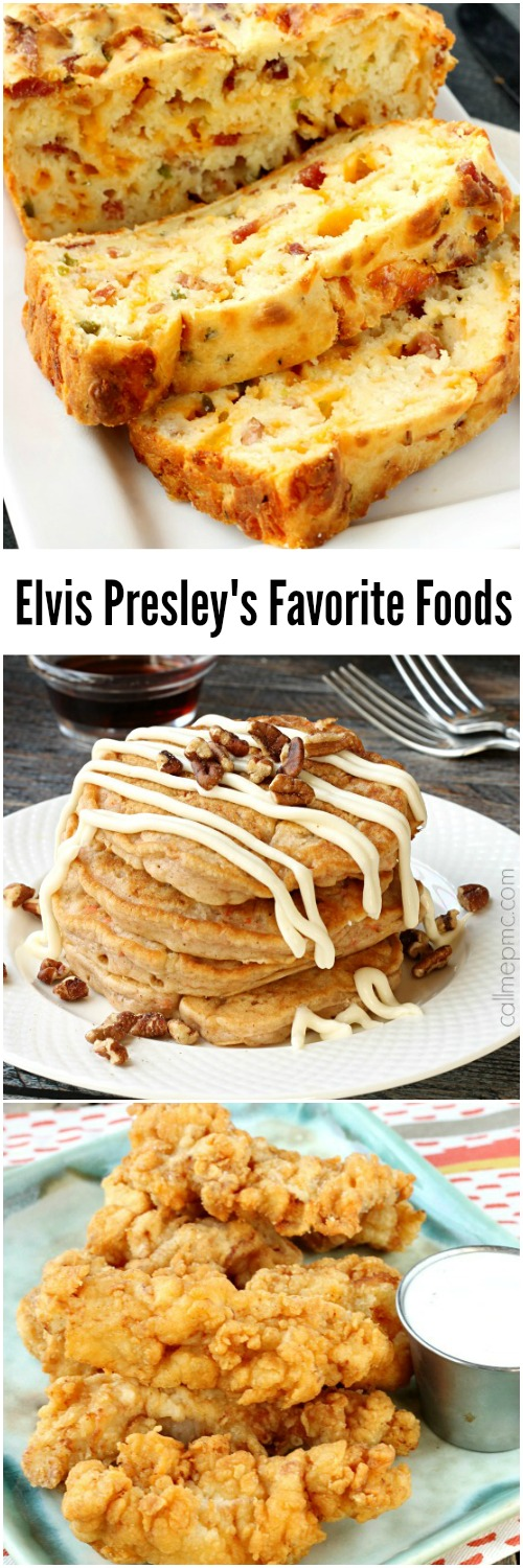 Elvis Presley got all shook up about his food. Just like his personality, he had a larger than life appetite. This Elvis Presley Tour Part 3 Favorite Restaurant and Inspired Food