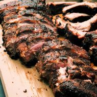 MISSISSIPPI PECAN WOOD SMOKED RIBS