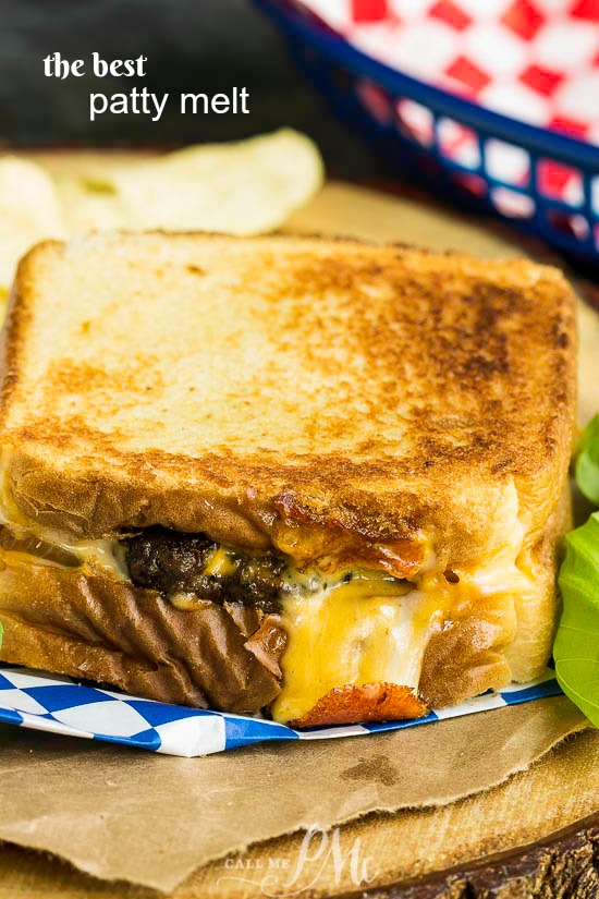 You can make this classic American diner favorite right at home. With my recipe tips, The Best Patty Melt will rival your favorite greasy spoon restaurant's version. #recipe #burger #beef #fast #quick #meal #favorite #food #cooking #eating #cheese #grilled #grilledcheese