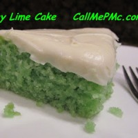 Easy Key Lime Cake with Key Lime Cream Cheese Frosting