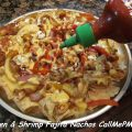 Chicken and Shrimp Fajita Nachos