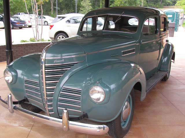 This is the model and year car that the Presley's drove in their move to Memphis.