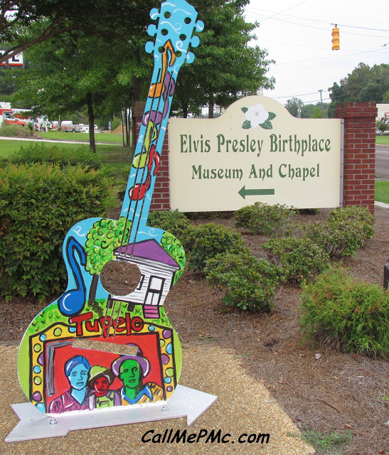 Elvis Presley Tour Part 2: Elvis Inspired Guitars and Favorite Local Restaurant