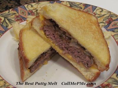 The Best Patty Melt