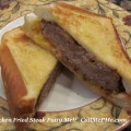 Chicken Fried Steak Patty Melt