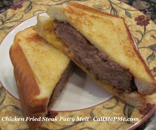 Chicken Fried Steak Patty Melt
