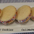 Confetti Stuffed Cookies