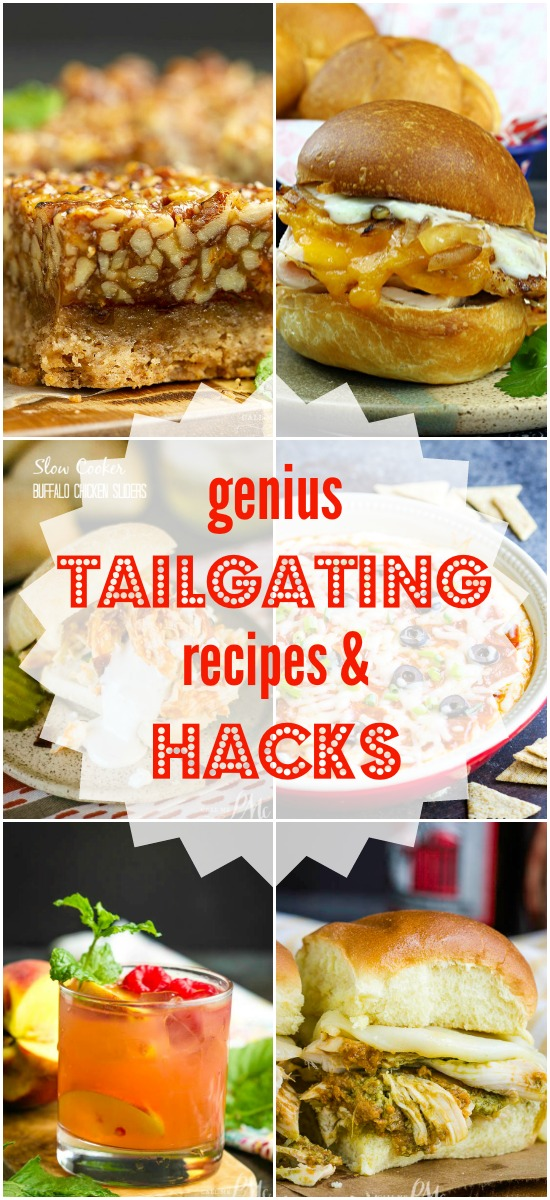 The perfect football party or tailgate starts with the right recipes, decorations, and gear! #gameday #tailgating #watchparty #footall #SEC #recipes #hacks #tailgatinggear #picnic