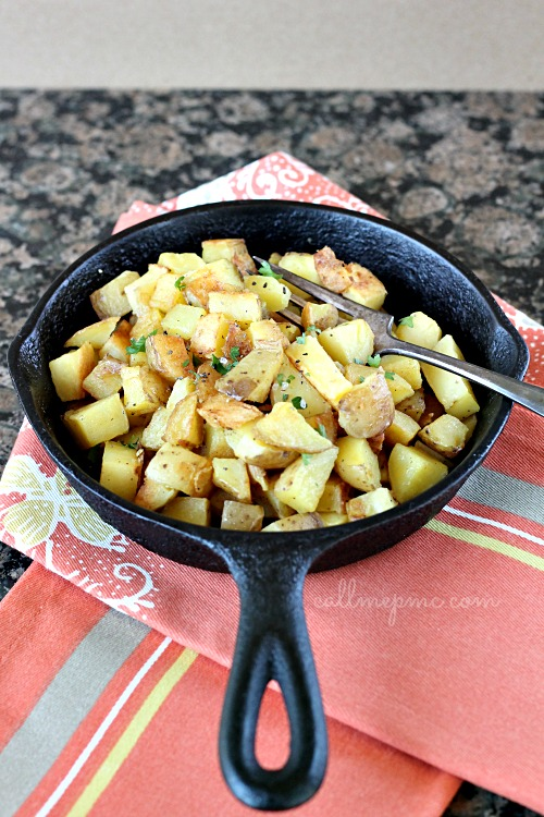 Skillet potatoes or potato hash