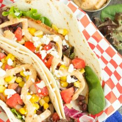 Southwest Chicken Wraps recipe are full of nutrients. Flavorful corn, black beans, chicken and a special sauce add plenty of flavor.