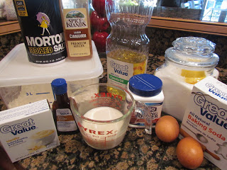 ingredients for Cinnamon Roll Breakfast Bread