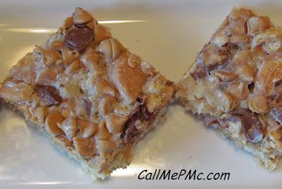 Peanut Butter Cookies and Cream Bars #callmepmc www.callmepmc.com
