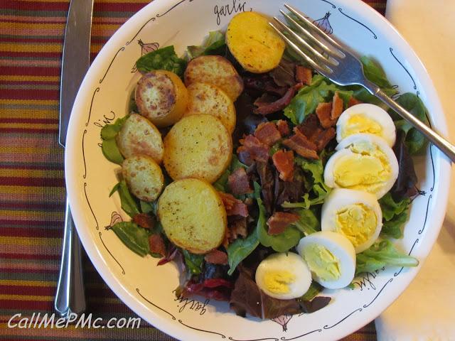 Bacon Egg and Potato Salad