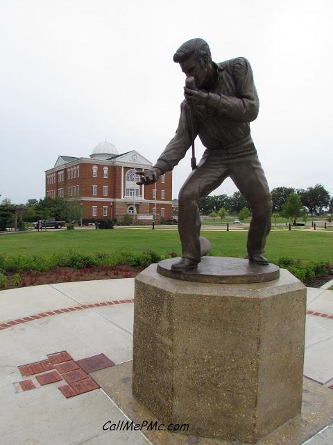 Elvis Statue at Fairpark, Tupelo, MS