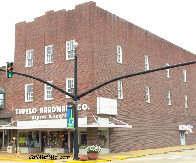 Tupelo Hardware, Tupelo, MS where Elvis bought his first guitar