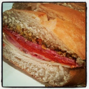 Delish Muffuletta from #callmepmc