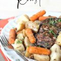 EASIER-THAN-TAKEOUT THREE PACK SLOW COOKER ROAST
