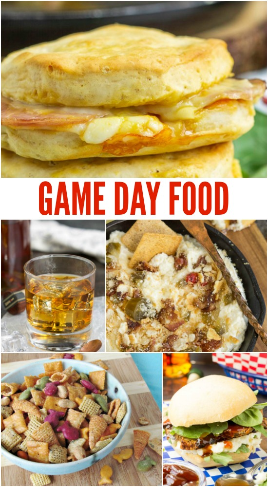 Snacks and finger foods are an integral part of enjoying game day. Make the game day party a breeze with some easy tailgate food!