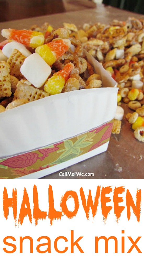 Halloween Snack Mix is a great snack mix to satisfy your snack-time cravings. It's sweet, salty, and crunchy that's great as a party nibbler or treat bag happy.