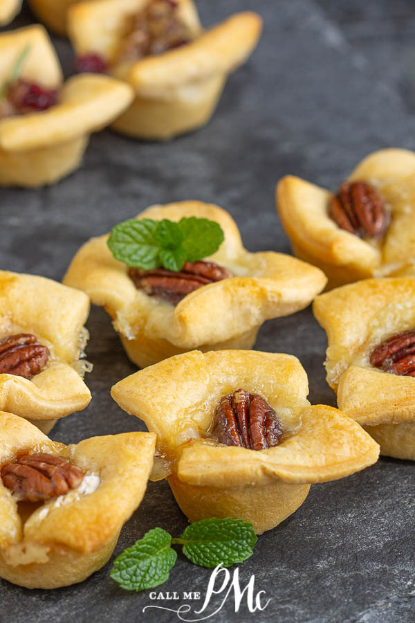 Hot Honey Brie Pecan Bites