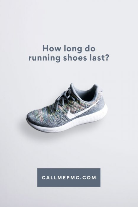 How many miles should you wear your running shoes? #running #shoes #howto