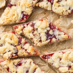 Strawberry Danish Bars