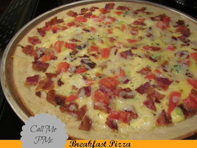 Have pizza for breakfast! Simple & Delicious Breakfast Pizza has fluffy eggs, cheese, and your favorite toppings baked into a thick and chewy crust!